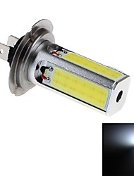 H7 24W 4xCOB 2000lm 6000K  White Light LED For Car Foglight  Steering Light  Headlamp (DC10~30V)