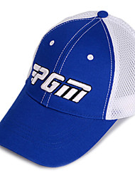 PGM Mesh White+Blue Sunproof Breathable Golf Hat