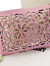Le sac à bandoulière de main de mode de messager perles sculpté dames des femmes coway (de couleurs assorties)