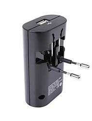 Майя универсальный адаптер пробки (типа 200U-W) / USB I-зарядное устройство / могут быть использованы для 183 стран