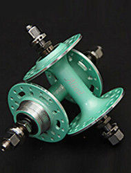 Alied 32 Holes Matte Green Bearing Fixed Gear Front and Rear Hub
