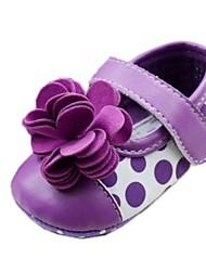 Chaussures bébé Robe Coton Ballerines Pourpre