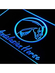 j874 Andalusian Horse Model Track NEW Neon Light Sign
