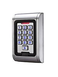 système économique imperméable carte d'identité de métal de contrôle d'accès avec le clavier, la fonction intégrée anti-vol pour py-s100