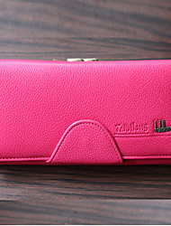 MEGA Women's  Faux Leather Wallet