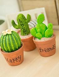 la simulation de plastique délicat de cactus de plante en pot (livraison aléatoire)