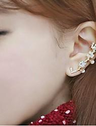 Diamond Stud Earrings LOVE Fashion with Single Stud Earrings (1PC)
