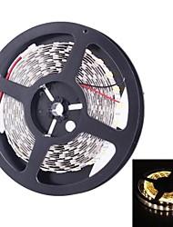 doppia fila 600x5050 SMD 144W 6000lm luce bianca calda luce di striscia principale (5 metri 12v / dc)