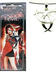 Resident Evil Silver Alloy Cosplay Necklace