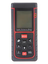 50m / 164 pés de mini distância digital a laser rangefinder medidor de volume de mão medida área w / bolha de nível