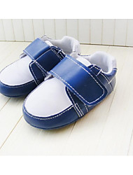 Boy's Flats Spring / Fall / Winter First Walkers / Crib Shoes Leatherette Party & Evening Flat Heel Magic Tape Blue
