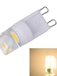 xinyuanyang® ax305 g9 2w 3200k 100lm 1xcob caldo lampadina bianca (110 ~ 220V)