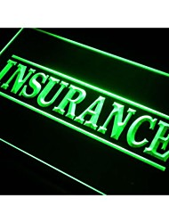 i341 Insurance Services Neon Light Sign