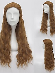 A Song of Ice and Fire Cersei Lannister Brown Cosplay Wig