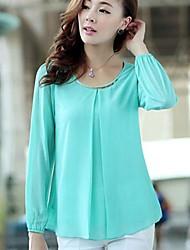 Women's Tops & Blouses , Others Casual/Work Long Sleeve JIN JIN