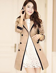 Women's The Fair Maiden Show Thin Trench Coat Outerwear
