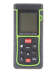 40m / 131 pés de mini distância digital a laser rangefinder medidor de volume de mão medida área w / bolha de nível