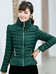 Women's Winter Cotton Padded Jacket Coat Small Outerwear