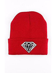 Men's and Women's Gem Pattern Knit Cap