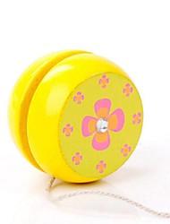 Diverse Image Wooden Classical Yo-yo Toy 1PCS
