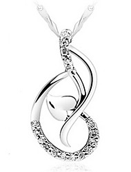 Ангел танец падение шаблон ожерелье Ангел женщин