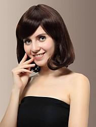 Capless Human Hair Charming Medium Length Curly Hair Wig
