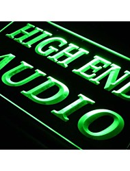 j689 High End Audio Hi Fi Theater Shop NEW Light Sign