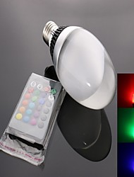 E26/E27 LED Spotlight C35 1 High Power LED 950 lm RGB Remote-Controlled AC 85-265 V