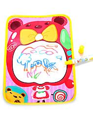 36 * 26.5 * 4cm niñas soportan patrón de tablero de dibujo del agua del aquadoodle pluma mágica juguetes de la novedad