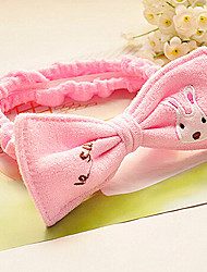 banho de cosméticos bandeau coelho dos desenhos animados bowknot açúcar faixa de cabelo rosto