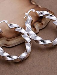 Vilin Women's Spiral Stripe Earrings