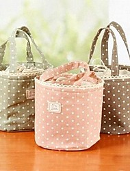Anti-fouling Cotton Fiber Strand Outlet Wave Cloth Art The Picnic Lunch Bag Color Randomly