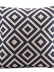 de algodón a cuadros clásico / ropa cubierta decorativa almohada
