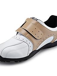 microfibra pelle khaki impermeabile sneaker golf traspirante uomini pgm di fissaggio con chiodo