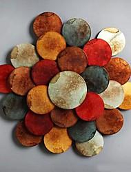 pared decoración de la pared del arte del metal, la oblea se pliega de la decoración de la pared de flores