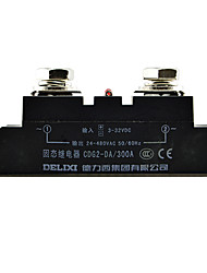 Single-phase SSR Solid State Relay 300A DC-AC Contactless Relay DELIXI ELECTRIC CDG2-DA300A