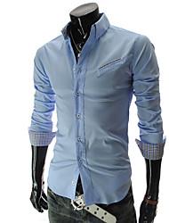 BIKELUN Fashion Long Sleeve Shirt (Light Blue)
