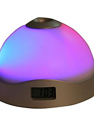 MORE-THING Colorful Projection Clock Changing Colored Lights