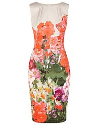 Women's Floral Dress,Bodycon,Print,Party,Work