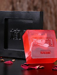 rectángulo rosa contemporáneo aceite esencial jabones rojo