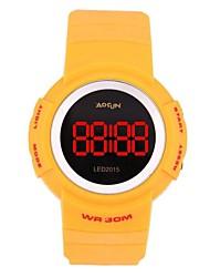 ABS Multifuction Waterproof Leisure Sport LED Wrist Watch