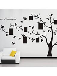 Wandaufkleber Wandtattoo, Stammbaum für PVC-Wandaufkleber