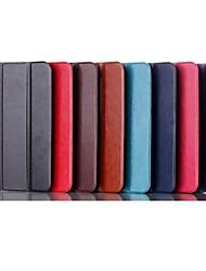 7 pouces cas modèle de triple déployante de haute qualité en cuir PU pour asus fonepad 7 fe170cg / fe7010cg (couleurs assorties)