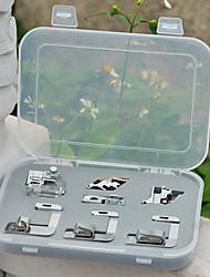 7 x Household Sewing Machine Parts Presser Foot Feet Kit Set
