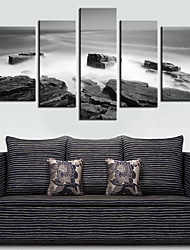 Stretched Canvas Art Landscape Sea Set of 5