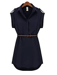 xiaonvren Loosen Fit Dress_X76(Navy Blue)