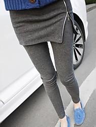 Women's Fashion Slim Zip Legging