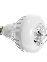 sonnent e27 8w colorées mini torche d'autorotation contrôlées Ampoule LED pour la scène disco parti avec télécommande (85-260V)