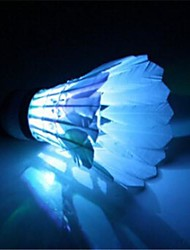 9*6.3cm Magic Color Glows  Badminton  (Ramdom Color)  (1pcs)