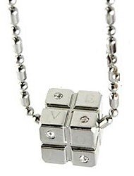 Unisex's   Fashion Stainless Steel  Necklace